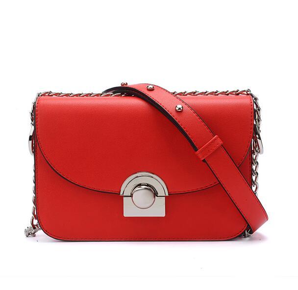 ФОТО 2016 New Luxury Designer Brand Chain Lock Small Package Women Messenger Bag Women Handbag Women Shoulder Evening Bag Purse