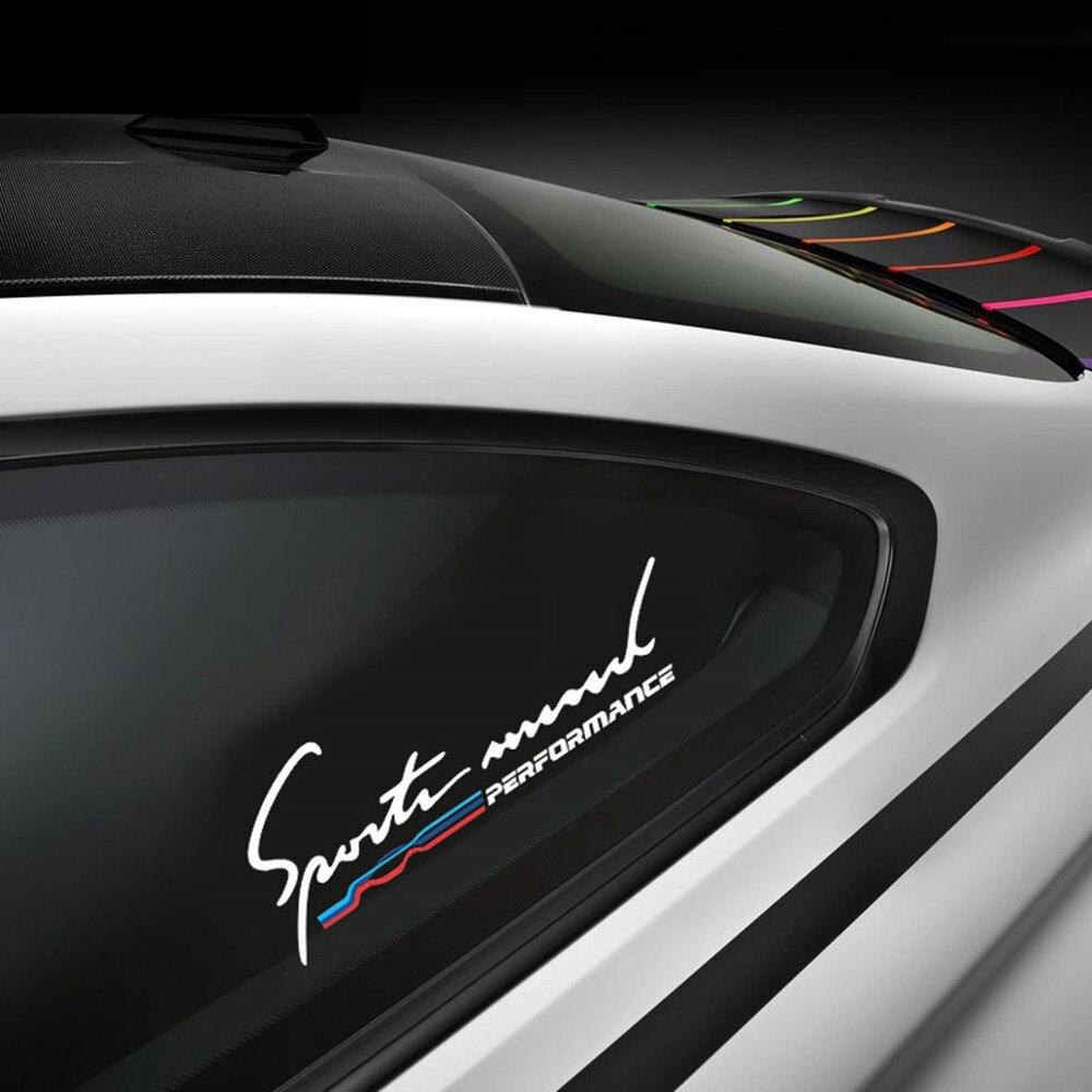 Online Get Cheap Car Side Window Stickers Aliexpresscom - Window clings for car sports