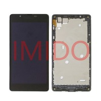 For Nokia Lumia 540 RM 1141 LCD Display Touch Screen Digitizer Assembly Frame Replacement Parts
