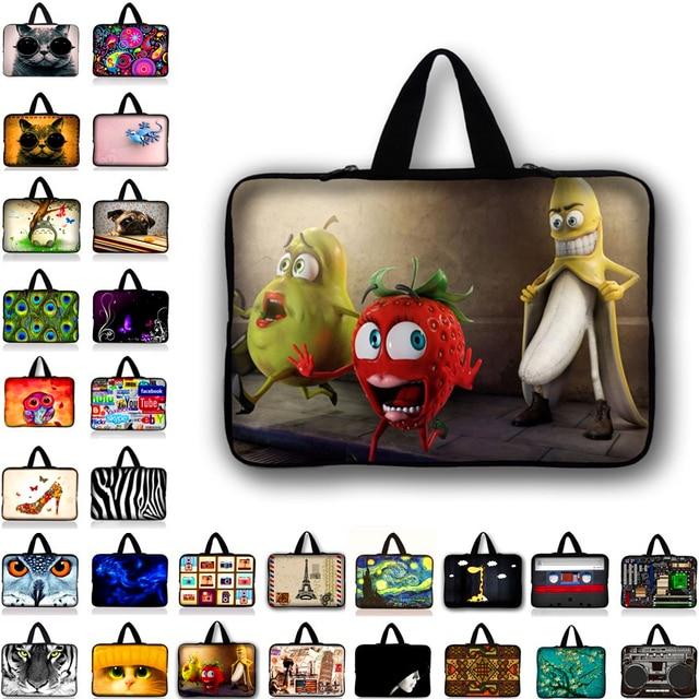 تخصيص النيوبرين حقيبة لابتوب جيب للجهاز اللوحي الحقيبة للمحمول حقيبة حاسوب 10 12 13 15 13.3 15.4 17.3 ل ماك بوك باد N2 Y1