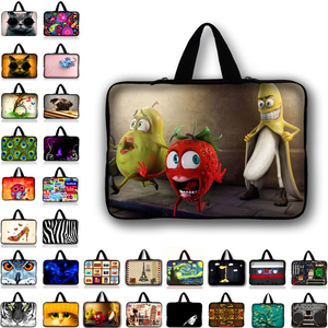 Image 1 - Customizable Neoprene Laptop Bag Tablet Sleeve Pouch For Notebook Computer Bag 10 12 13 15 13.3 15.4 17.3 For Macbook IPad N2 Y1