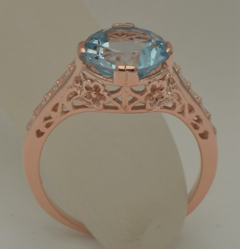 elegant snow white herkimer diamond and aquamarine engagement ring and wedding band aquamarine wedding rings Elegant Snow White Herkimer Diamond and Aquamarine Engagement Ring and Wedding Band