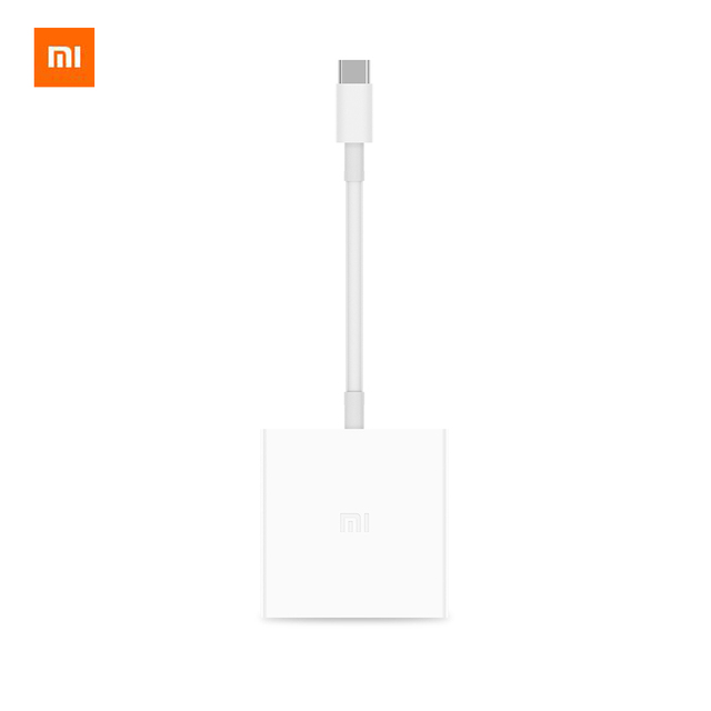 Original Xiaomi USB-C to HDMI 4K USB 3.0 Multi function Converter USB Type C PD 2.0 Adapter for Mi Notebook Air Macbook