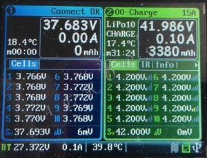 Image 4 - Aerops חדש iCharger 4010 Duo 2000 w 40A 10 s הכפול יציאות איזון כפול יציאת Lipo חיי סוללה מטען DC ציפורן