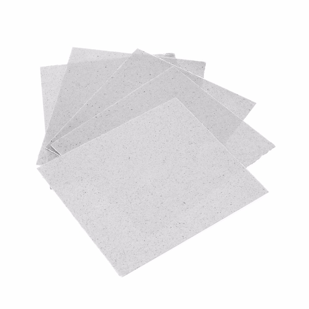 5pcs/Set 12x12cm/4.7x4.7inch Microwave Oven Mica Plates Repairing Part heat Resistance Mica Plate chantecaille shine eye shade refill mica цвет mica variant hex name 908a94