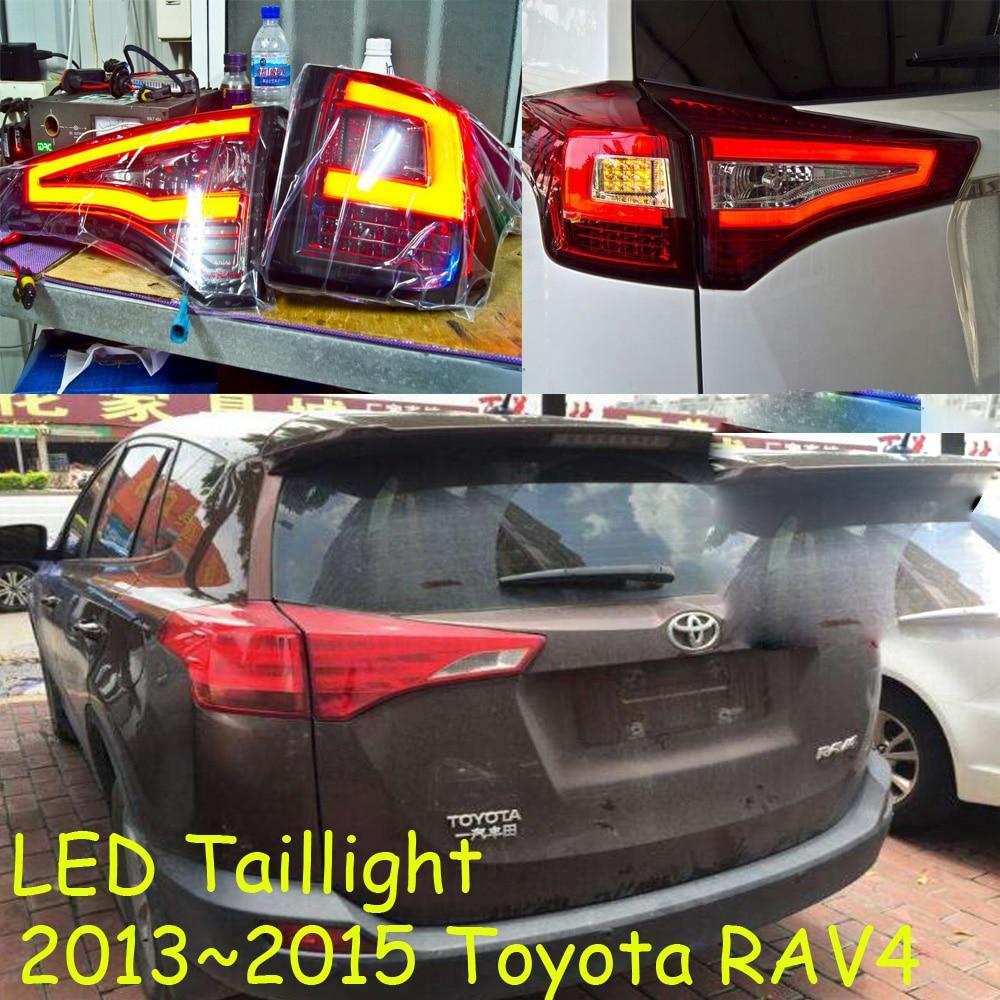 RAV4 задний фонарь, 2013 ~ 2015 год, светодиодный, Бесплатная доставка! Prado, cruiser, vios, corolla, camry, Hiace, tundra, sienna, yaris; задняя фара RAV4, RAV 4