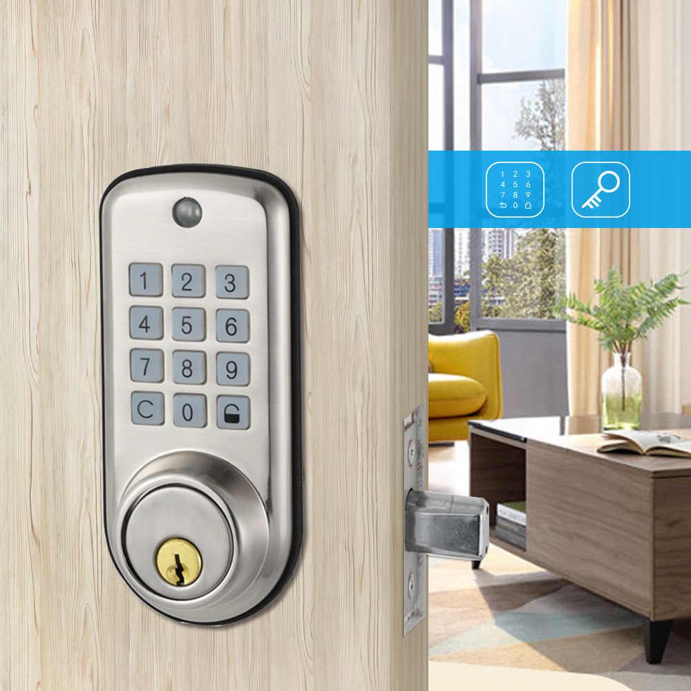 Cheap smart Home Digital Door Lock, Waterproof Intelligent Keyless Password Pin Code Door Lock