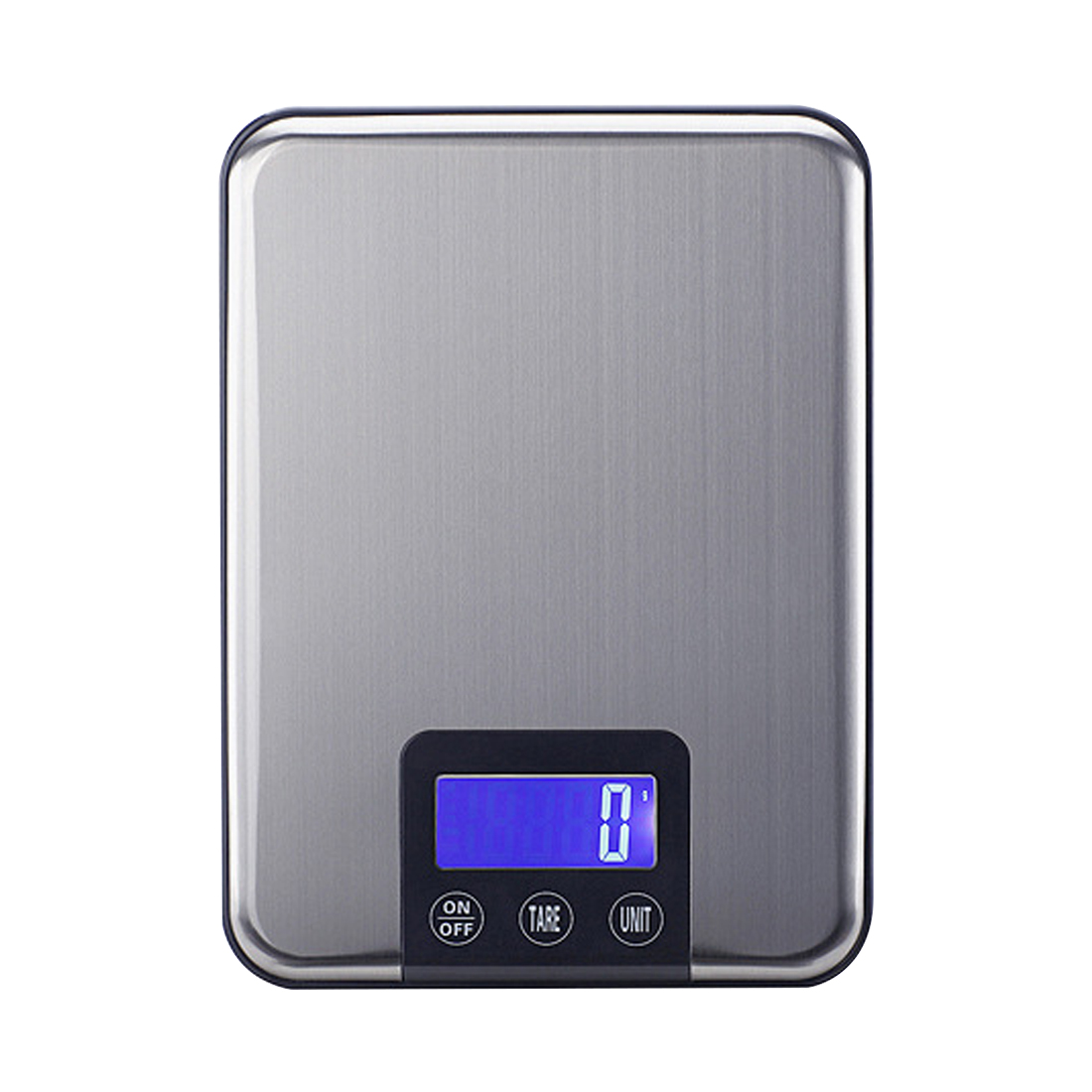 Slim Stainless Steel 33LB 15KG/1G Portable Balance Digital Kitchen Scale Electronic Postal Platform Baking Diet Food Weight LCD free shipping 697 619 7 7x17x5 mm full zro2 ceramic ball bearing