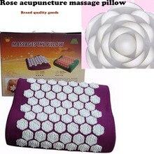 JDF brand JHG acupuncture massage pillow – 550 – a rose Head massage health care pillow factory