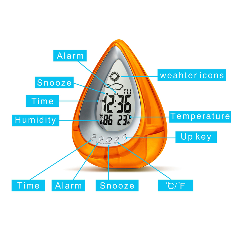 Water Powered Eco-friendly Digital Clock 20