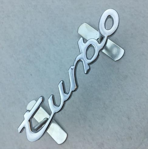 цена на 1 pcs turbo logo Metal Car Front Hood Grill Badge Grille Emblem Logo stickers auto accessories Car Decal Turbo Logo Universal F