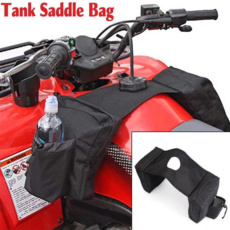 Image 3 - ATV UTV Motorcycle Cargo Pocket Fuel Tank Storage Saddle Bag Case 37.5cmx26.5cm