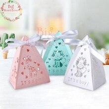 Big Heard Love, 50 шт в наборе, Baby Shower подарочные коробки для конфет коробки животных вечерние показать Подарочная коробка вечерние украшения Дети День рождения украшения