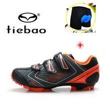 Tiebao MTB Cycling Shoes Mountain Biking Shoes zapatillas deportivas mujer Bicycle add cycling font b underwear