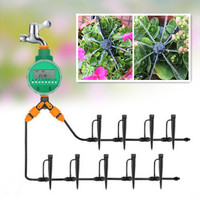 20/30m Garden DIY Automatic Watering Micro Drip Irrigation System Garden Self Watering Kits Adjustable Dripper Spray Cooling
