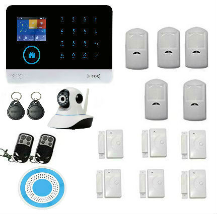 Yobang Security WIFI RFID GSM Home Security Alarm System With RU ES PL DE Switchable Touch Panel LCD Disply APP Remote Control виниловая пластинка stooges the live at unganos