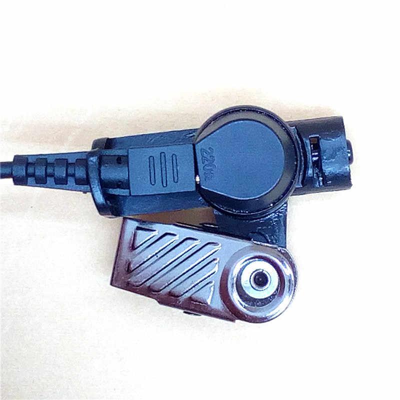 Covert akoestische buis oortelefoon headset oortelefoon voor motorola radio xpr6500 xir p8628 mtp850s dp3400 apx7000 apx2000 walkie talkie