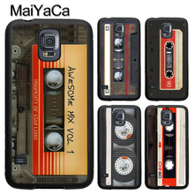 dbe51c69822 MaiYaCa Retro Cassette Tape Vintage Phone Case Fundas For Samsung S7 S5 S6  edge S8 S9 plus Note 8 Note 4 Note 5 Back Cover