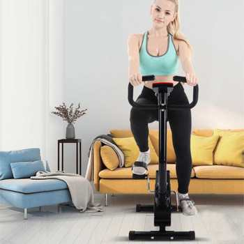 Wyświetlacz LED rower Fitness rower treningowy Cardio narzędzia dom kryty kolarstwo trener stacjonarne kulturystyki sprzęt do ćwiczeń tanie i dobre opinie SKUB46567 Hewolf