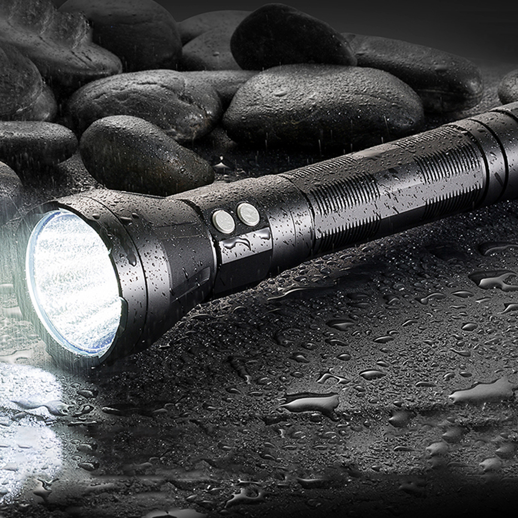 Jetbeam SSR50 XHP70.2 P2 1C LED 3650 Lumens Flashlight Daily EDC Torch Motive Rechargeable Power