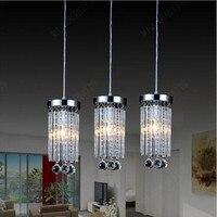 3 luzes de cristal de luxo luzes pingente para sala de jantar com 110 v 240 v E14 3x30 w|crystal pendant lights|pendant lights|light for -