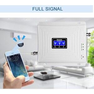 Image 4 - Wzmacniacz sygnału trójpasmowego Lintratek 900 1800 2100Mhz wzmacniacz GSM 3G 4G wzmacniacz LTE wzmacniacz telefonu komórkowego 2G 3G 4G 65dB GDW #3.9