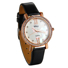 Lancardo Brand Artificial Shells Lady Watches Women Luxury Square Leather Dress Wrist Women watch Relogio Feminino Montre