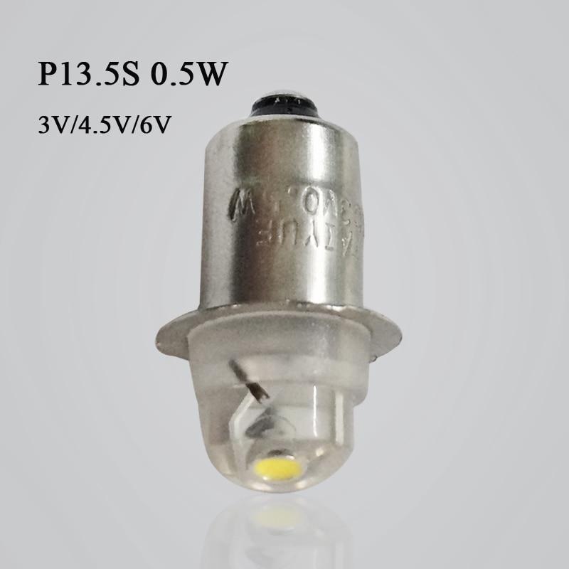 1 vnt. P13.5S E10 CREE XPG2 3W 1W 3W žibintuvėlio lemputės - Apšvietimo priedai - Nuotrauka 2