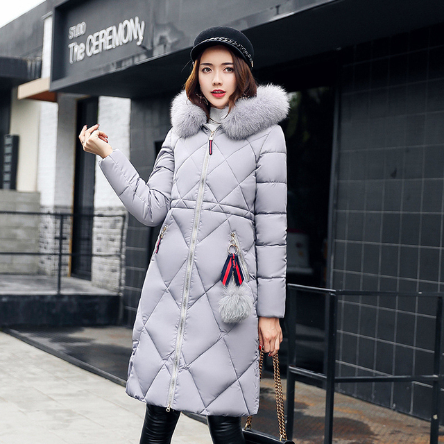 a68cf9c2b US $32.7 30% OFF|Winter Vintage Streetwear Women Clothes Jackets Warm Women  Thick Cotton Long Coats New Ladies Red Hooded Parkas Overcoat FLD1274-in ...