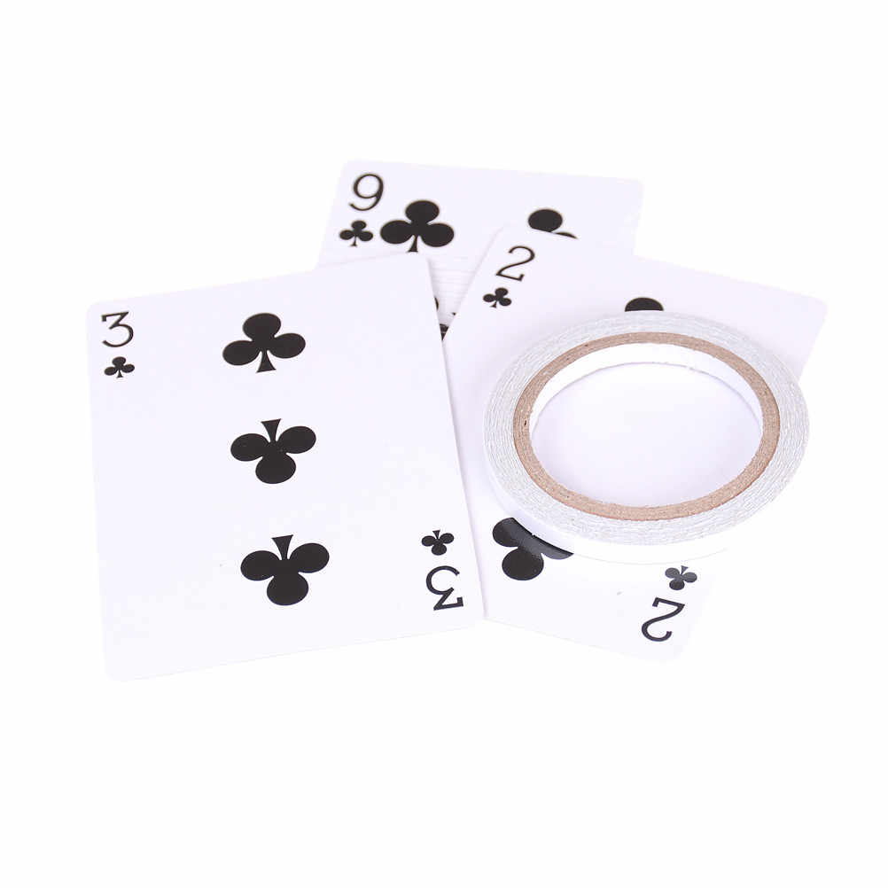 Karten magie tricks schwimm poker karten magie requisiten UFO Karte, Mentalismus, close up, bühne magie-032