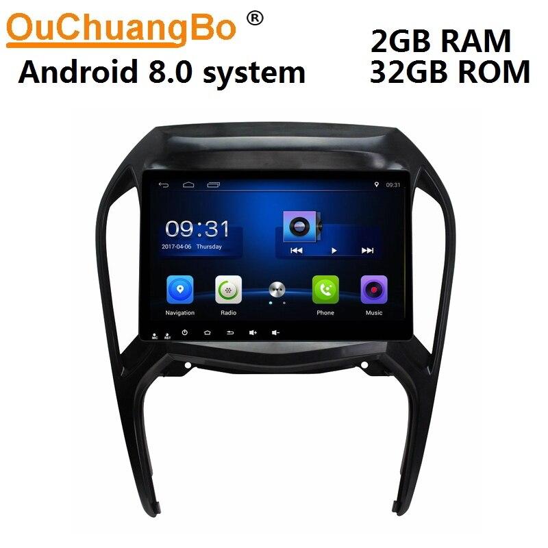 Ouchuangbo android 8,0 автомобильное аудио радио gps навигация для Chery Arrizo 5 2016 2018 с управлением зеркалами 1080 P видео 2 ГБ + 32 ГБ
