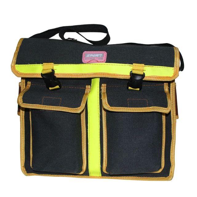 47722cb8254e4 Sac à bandoulière matériel électricien sac imperméable Oxford tissu Multi  organiser poches pochette de rangement outil travail Portable