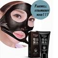 Face Care Suction Black Mask Facial Mask Nose Blackhead Remover Peeling Peel Off Black Head Acne Treatments Better Than PILATEN