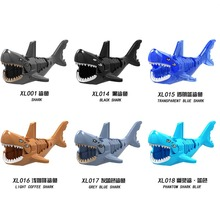 Single Sale Shark Wolf Horse Elepant Mammoth Elk Deer  Building Bricks Action Figures Children Toys