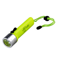 JUJINGYANG magnetic switch light diving flashlight professional depth waterproof