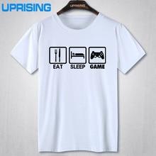"""Geek Gamer """"EAT – SLEEP – GAME"""" T-shirt"""