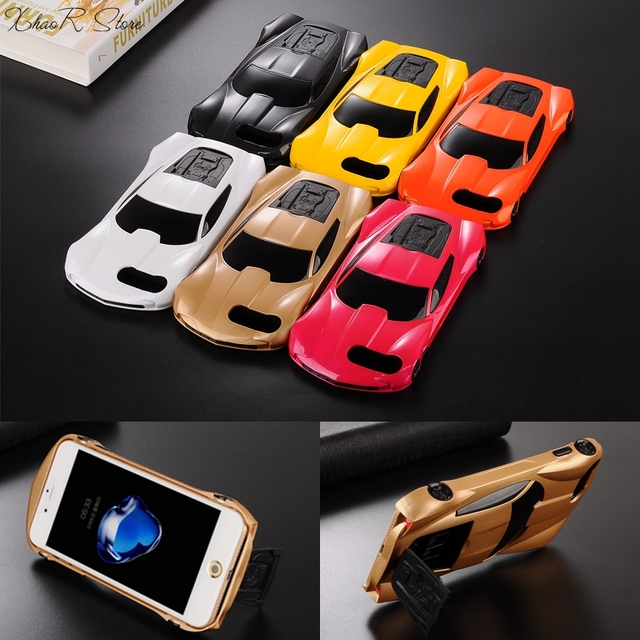 cheaper ccfdd 83d44 US $5.98 |2017 New 3D Fashion Cool luxury sports car phone cases for iphone  6 6s Plus classic hard cell phone covers For iphone 7 7plus-in ...