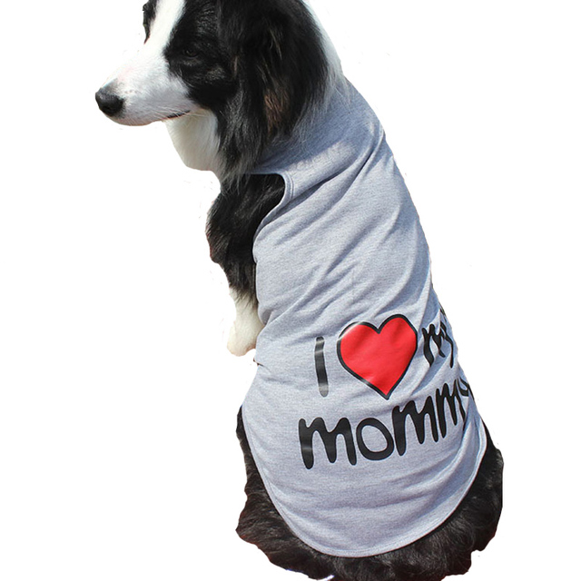 6eac3ac492d US $4.79 22% OFF|3XL 9XL Plus Size 100% Cotton Spring Summer Letters Dog  Vest for Big Dog Clothes Tops Costume Pets Apparel Sportswear CW005-in Dog  ...