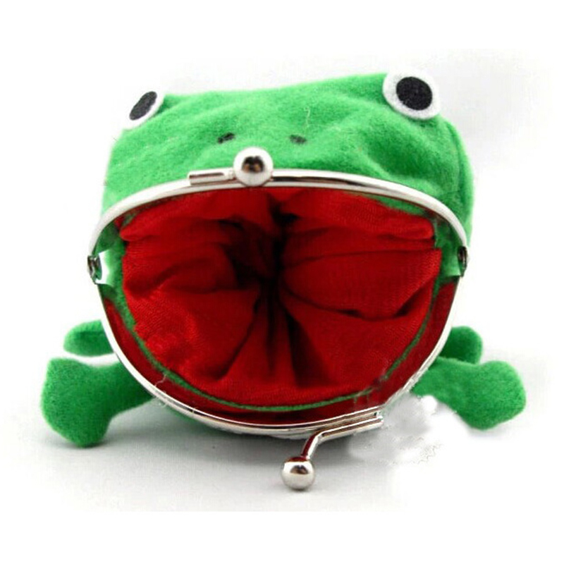 Casual Naruto Frog Shape Women's Cotton Wallet