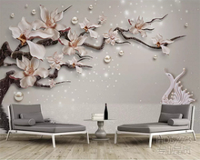 beibehang wall paper High fashion silk silhouette wallpaper vast coast beach stone tree interior 3d papel de parede