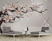 beibehang wall paper High fashion silk silhouette wallpaper vast coast beach stone tree interior 3d papel de parede