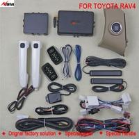 Авто Система бесключевого доступа начать с Умная Ручка разблокировать удаленного запуска сигнализация для toyota RAV4