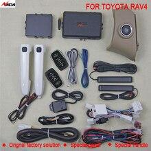 Car auto keyless entry push start with smart handle unlock remote start alarm system for toyota RAV4