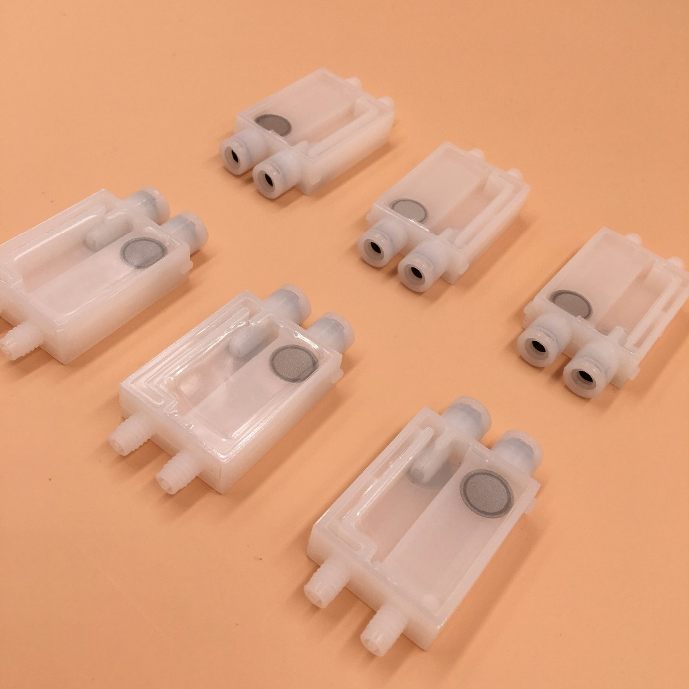 Eco Solvent Damper for EPSON DX7 Printhead Damper 10pcs suitable for 2mm*3mm ink tube. for roland fj540 fj740 fj640 rs640 sj540 sj740 sj640 eco solvent printhead for dx4