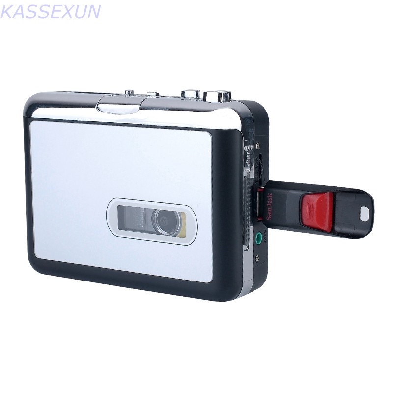 2017 new tape cassette recorder, convert tape cassette to mp3 in USB Flash Disk, no pc required, Playback, Free shipping 2016 new cassette to usb flash disk converter convert old cassette to u driver no need computer walkman free shipping