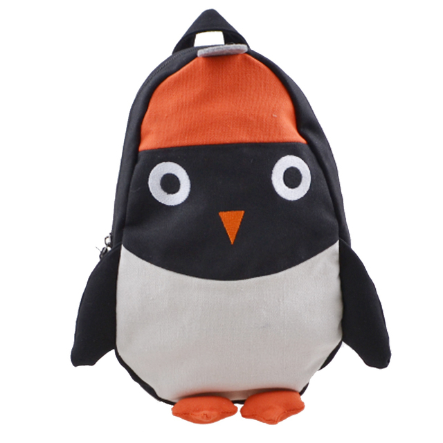 Mochila Children's Kindergarten Backpack Baby Boy Children School Design Kid Girls Lovely Plush Penguin Toy Bags