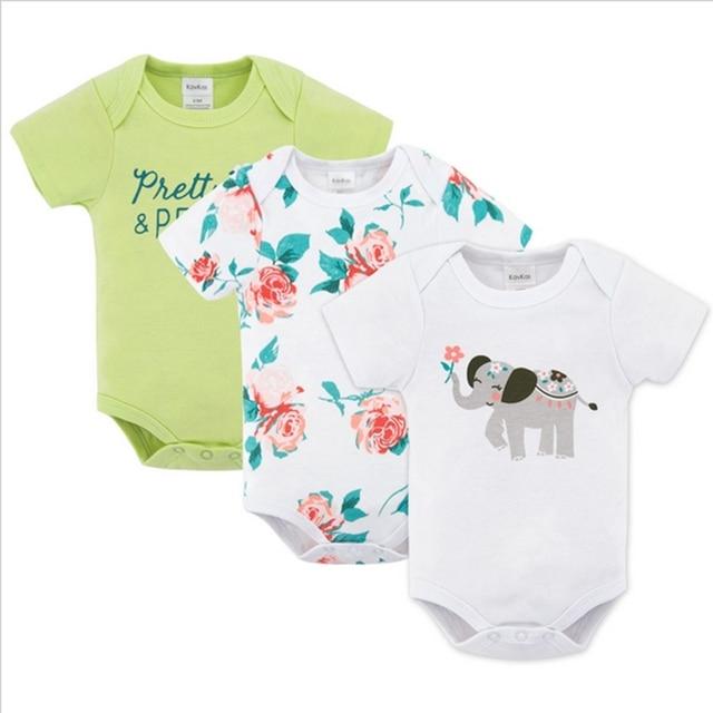 2c8a1378b Kavkaz Baby Girl ropa 3 unids/set manga corta invierno Roupa infantil bebé  renacido invierno