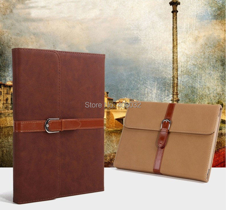 Fasion hasp Stand Cover Leather Case for Samsung Galaxy Note 10.1 N8000/N8010 Classics style case for note 10.1 N8000 7color