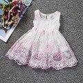 Recién nacido Vestido de 2016 Niños de La Princesa Fiesta de Disfraces Para Niños Desgaste Infantil Del Bebé de La Muchacha Primer Cumpleaños Vestidos de 1 2 Años C852