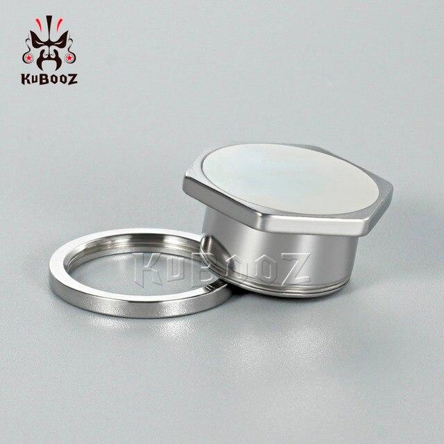 Шестигранный винт kubooz для пирсинга тонкая задняя часть пирсинг